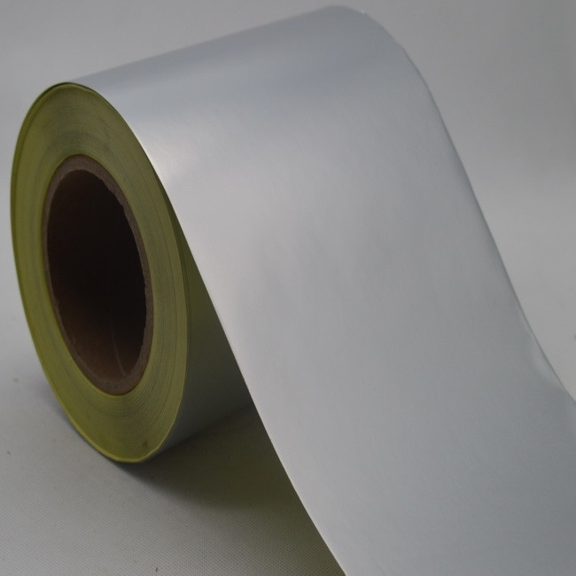 Hot Melt Glue Matte Silver 1080mm Aluminum Foil Stickers